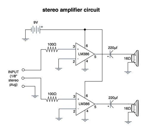 image result for media player speaker circuit | electronics, Wiring diagram