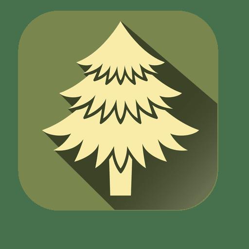 Yellow Xmas Tree Square Icon Ad Affiliate Aff Xmas Icon Square Yellow Tree Icon Icon Xmas Tree