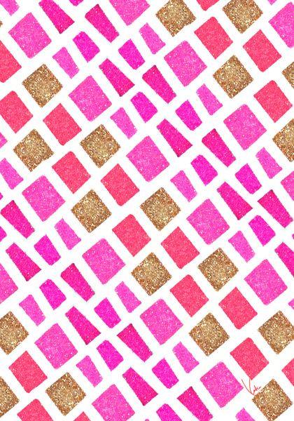 Pink Pattern / PAPERFASHION