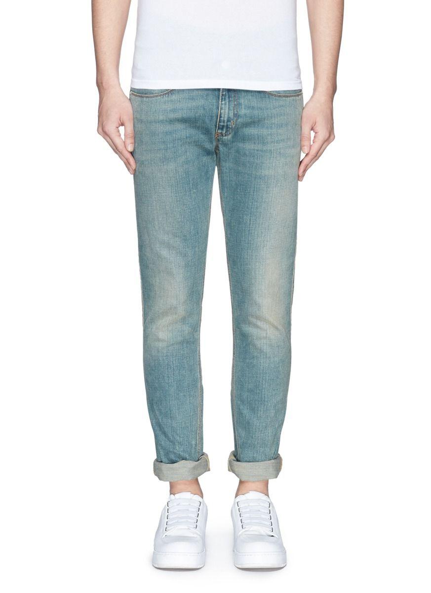Men s Blue Max Slim-Fit Jeans   Men style   Mens fashion, Acne ... 72d26aac1c2