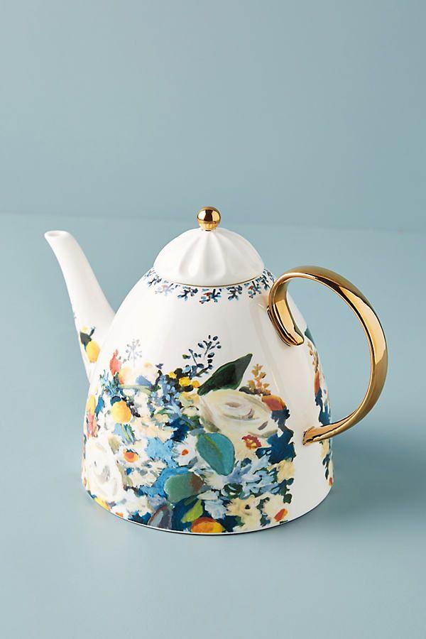Botanica Teapot Tea Pots Tea Pots Vintage Teapots Unique