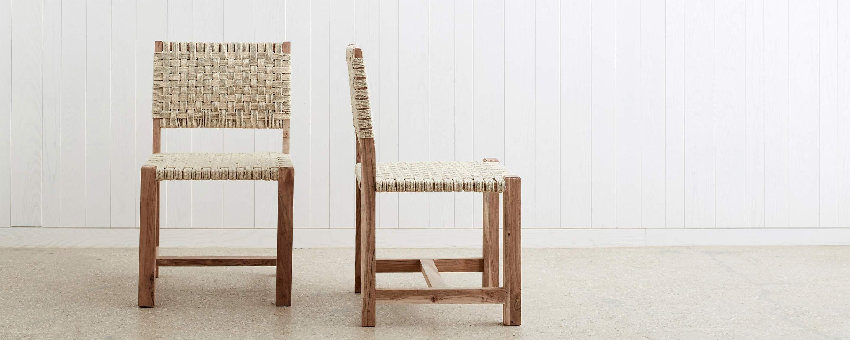 The Woven Jute Dining Chair Target Lounge Chairs Dining Room