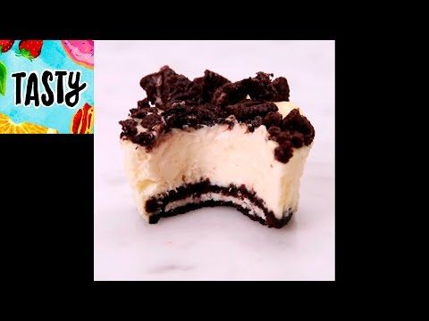 Mini Oreo Cheesecakes Tasty YouTube Food To Make Pinterest