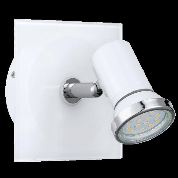 Contemporary White & Chrome Bathroom LED Spot Light - Class 2 | My ...