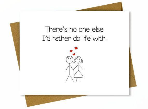 Husband Anniversary Card Cute Anniversary Card for Boyfriend – Birthday Cards Canada