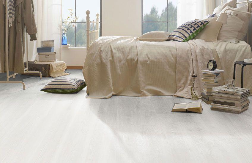 Pvc Vloer Slaapkamer : Pvc vloer. pro fix white soft oak. #pvcvloer #pvc #vloer