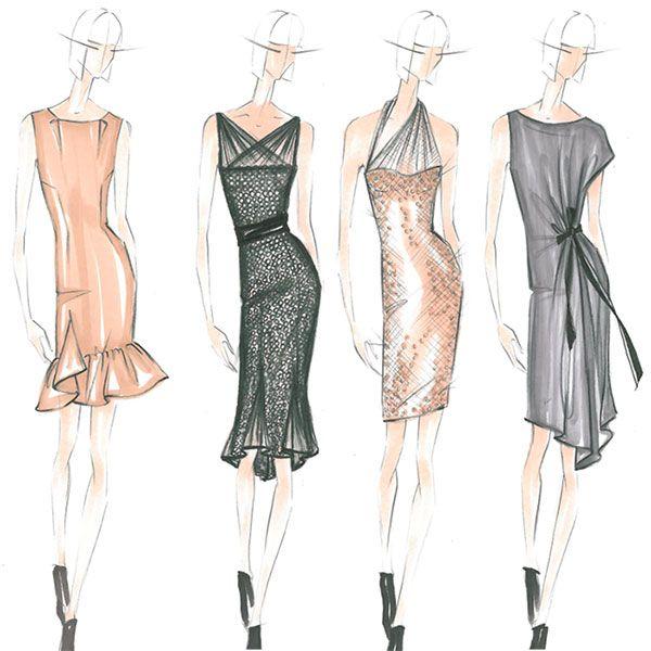 Wedding Worthy Dresses From Project Runway S Season 10 Winner Fashion Fashion Figures Fashion Design