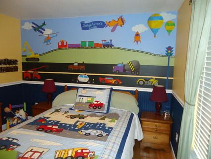 Colorful Train And Car Racing Wall Stickers Decals For Modern Kids - Wall decals carsracing car wall decal ideas for the kids pinterest wall