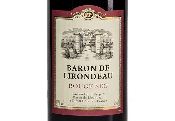 Baron de Lirondeau Rouge Sec