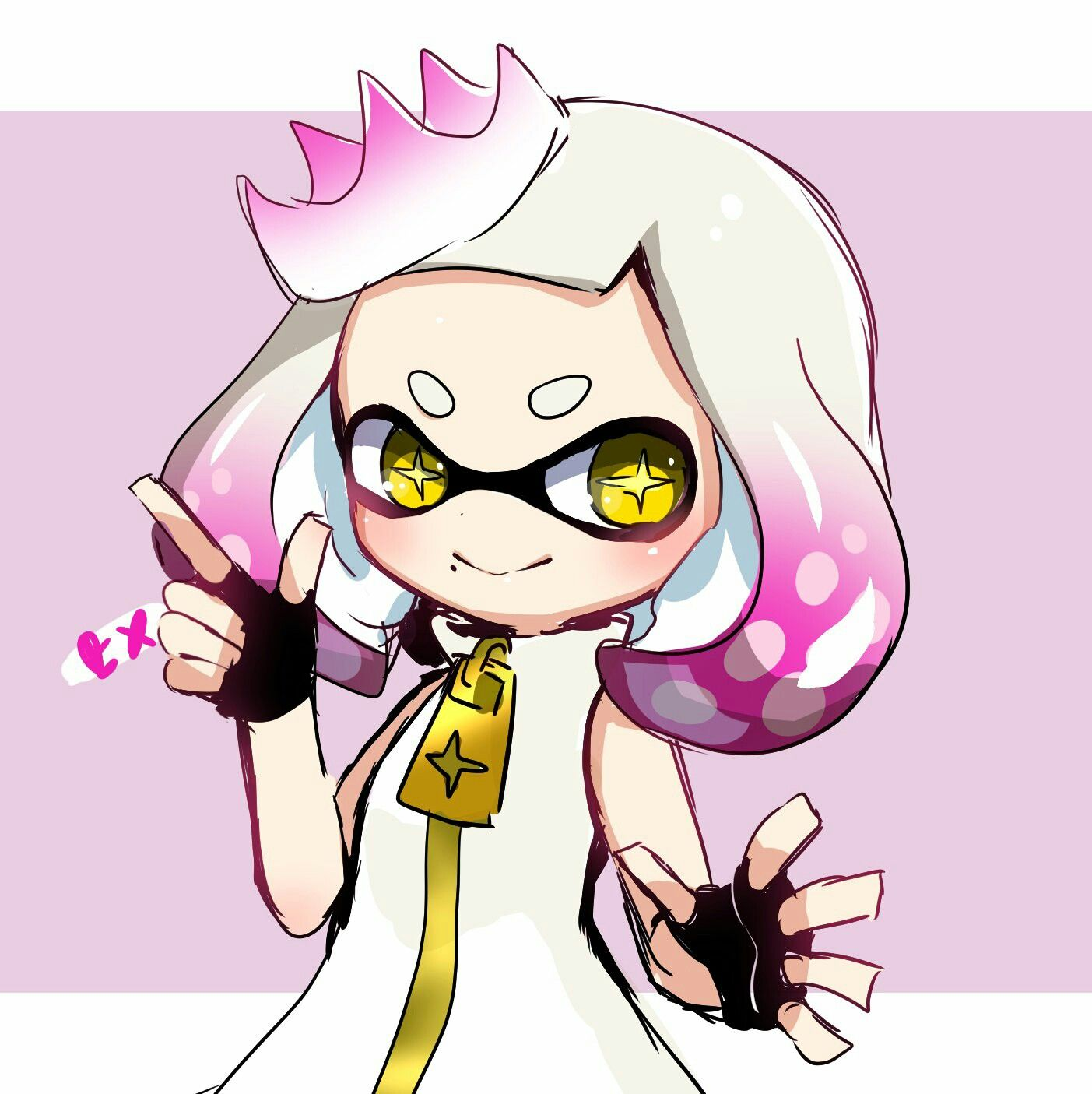 Pearl Splatoon 2 Anime Character Design Splatoon 2 Art
