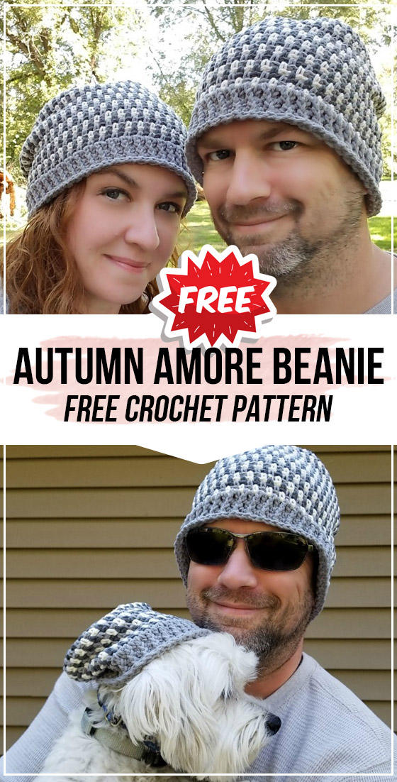 crochet Autumn Amore Beanie free pattern crochet Autumn Amore Beanie free pattern  easy crochet beanie pattern for beginners