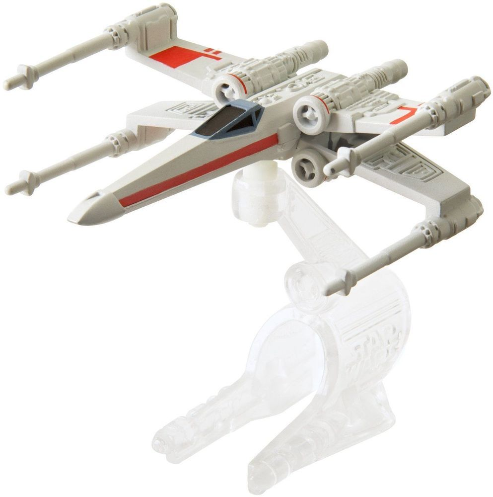 19bf6cc99a6d Hot Wheels Star Wars Starship X-Wing Fighter Red 5 The Force Awakens # HotWheels #XWingFighter