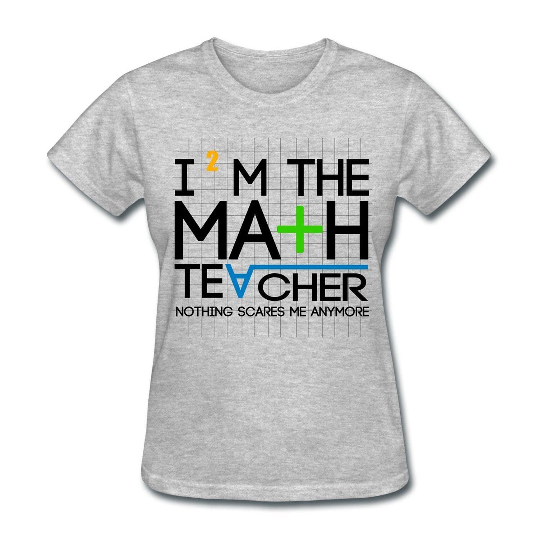 ff381ab0 Amazon.com: Funny Math Teacher Women's T-Shirt: Clothing | Stuff I ...