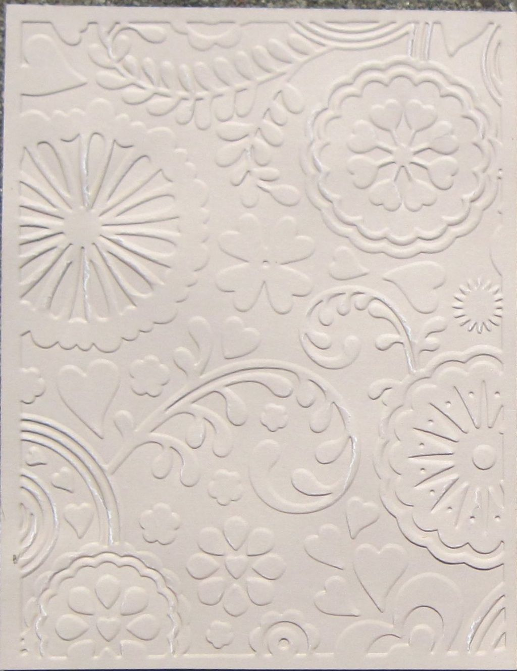 Card Making Tips Ideas Part - 24: Cardmaking · Tips For Using Embossing Folders... Really Good Ideas!