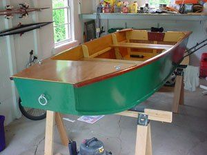 Building a Wooden Jon Boat With Simple Plans for Small Plywood Boats   Boats   Boat building ...
