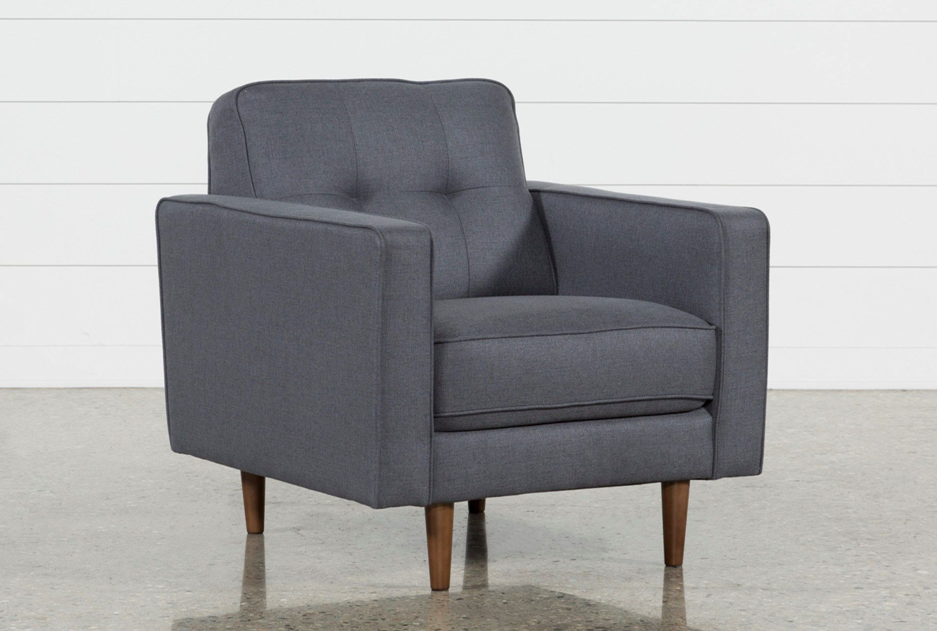 London Dark Grey Chair High Back Accent Chairs Grey Chair