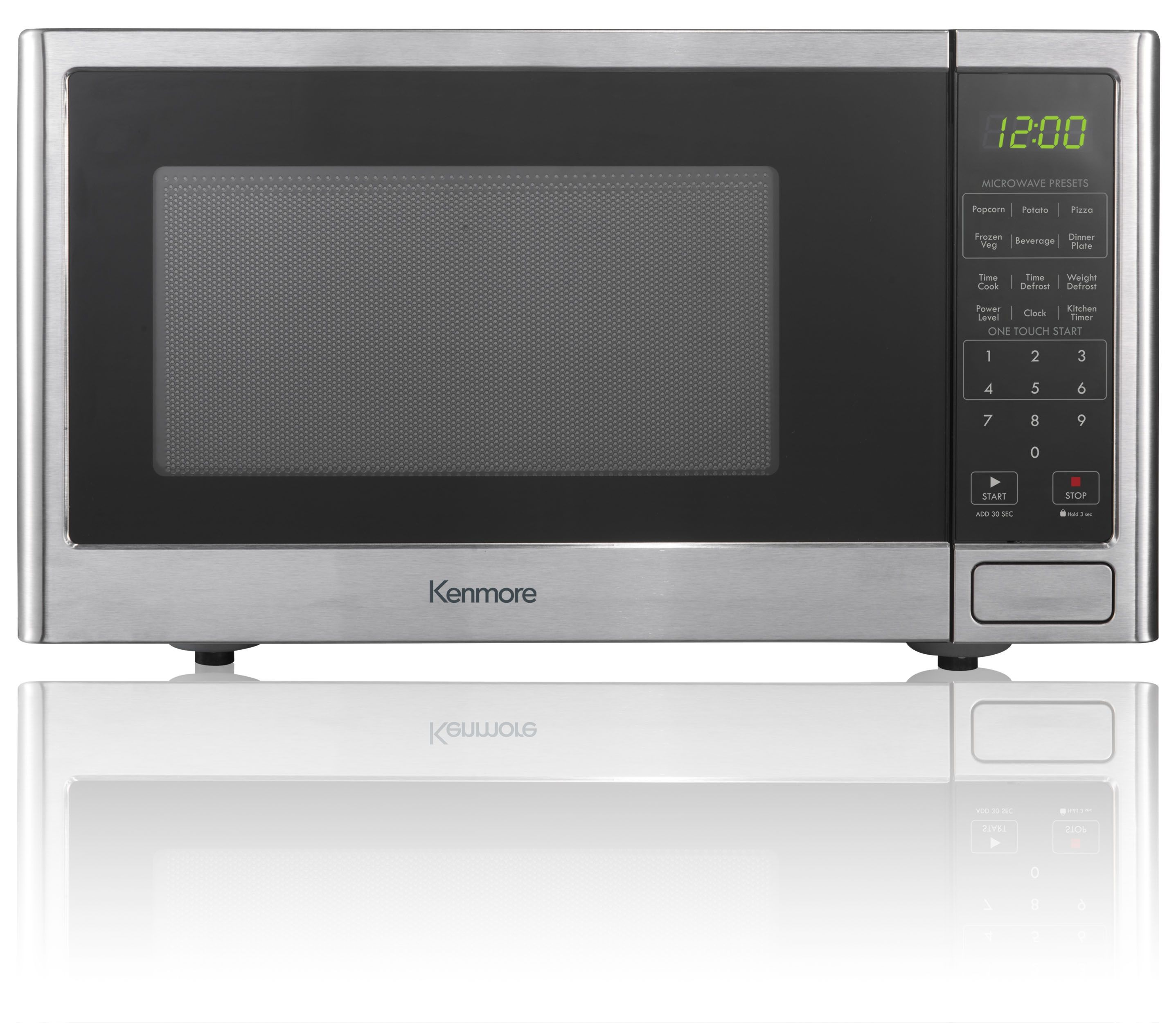 Give Your Family The Convenience Of Countertop Cooking With The Kenmore 7377 Stainless Steel Oven Countertop Microwave Oven Best Countertop Microwave