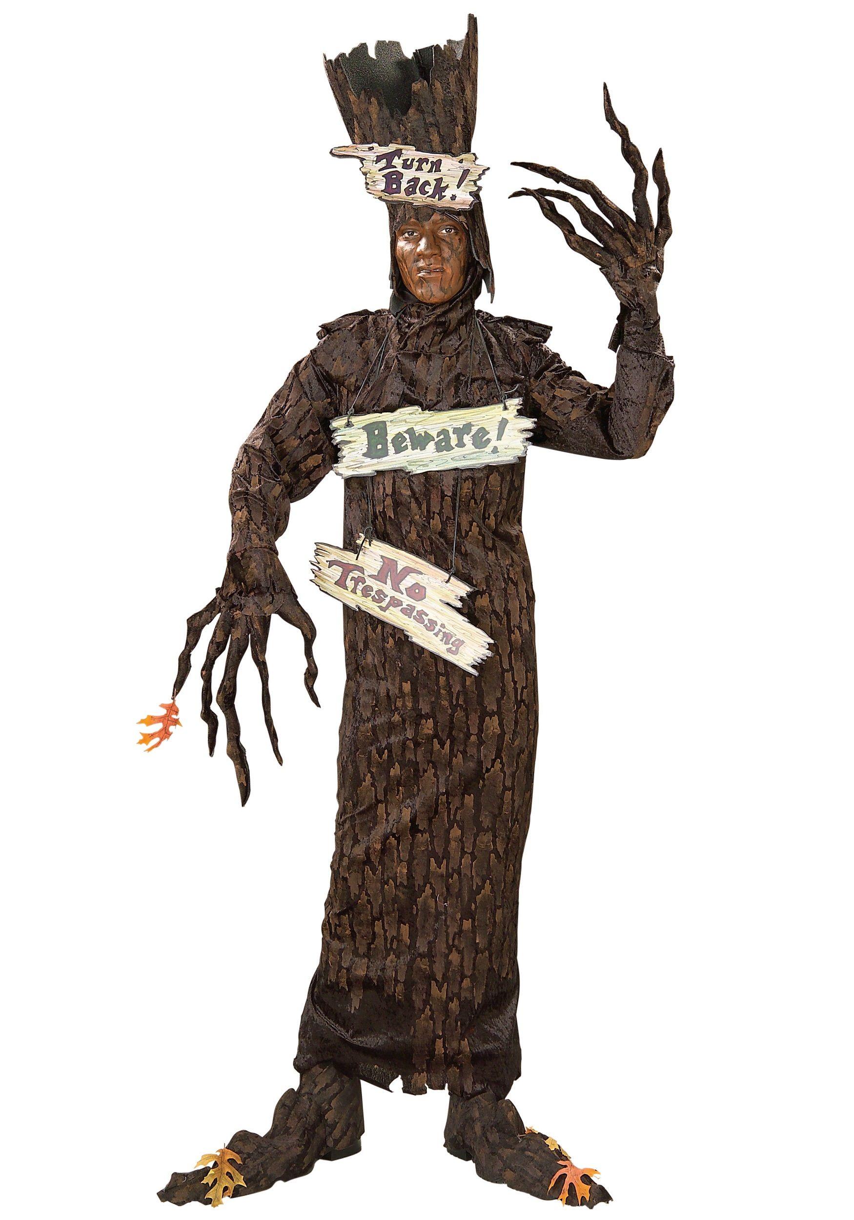 Adult Scary Tree Costume … Tree costume, Tree halloween