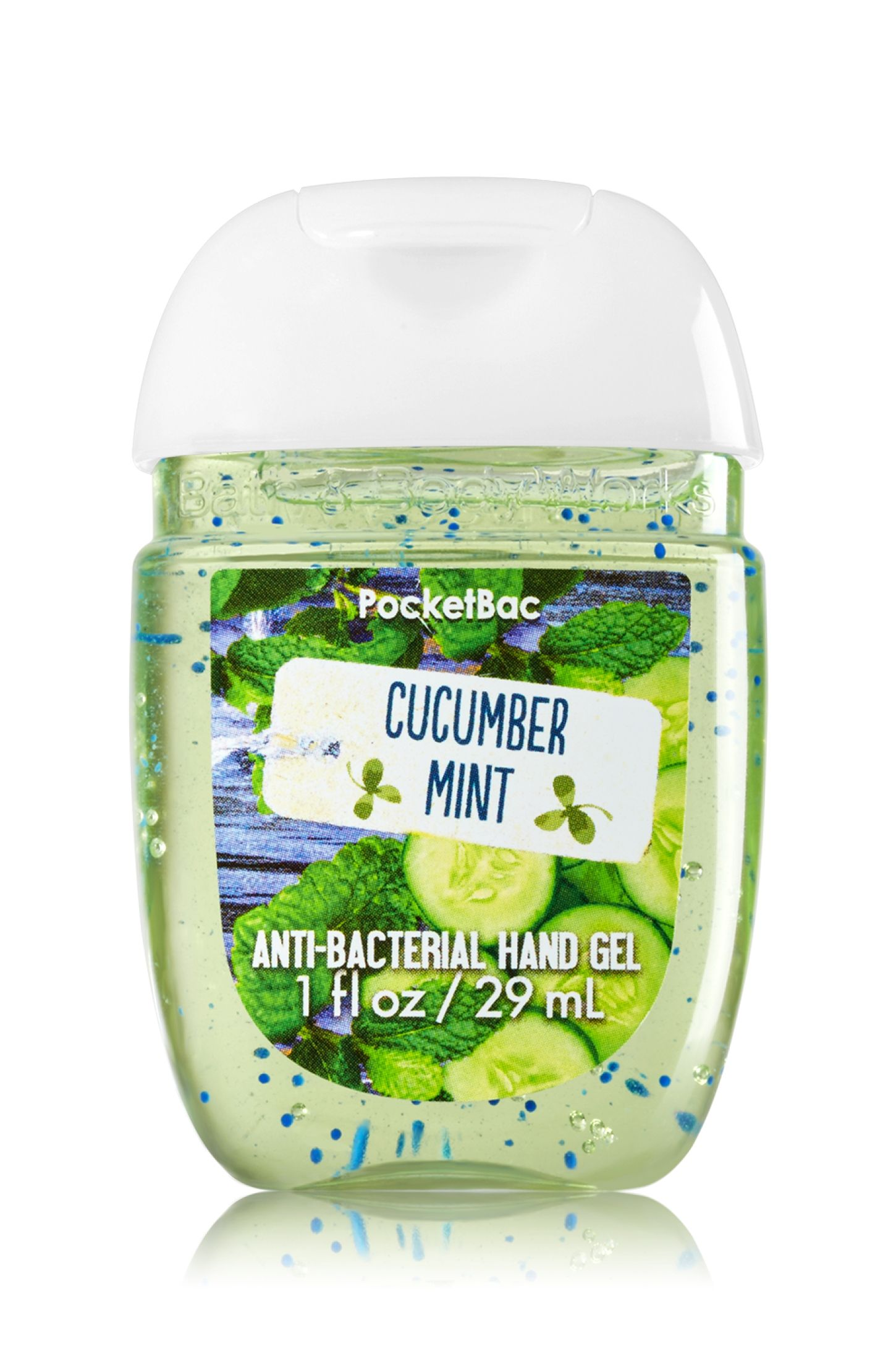 Cucumber Mint Anti Bacterial Hand Gel Bath And Body Bath And