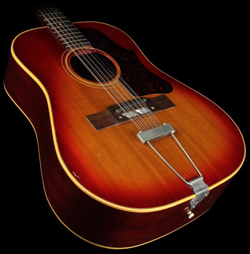 1963 gibson vintage b45 12 12 string acoustic guitar i think this is the same model that 39 s in. Black Bedroom Furniture Sets. Home Design Ideas
