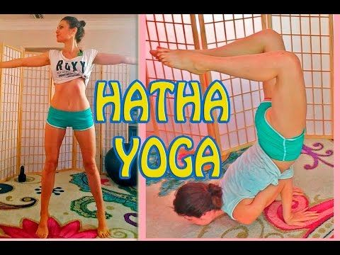 hatha yoga lotus headstand plie twists peacock  youtube