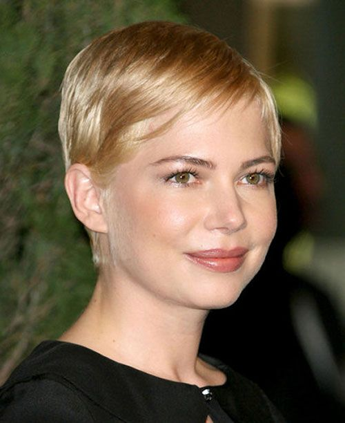 Celebrity Hairstyles For Short Hair 2012 2013 Blonde Pixie Hair