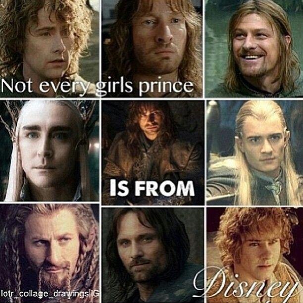 I Ll Take Legolas Aragorn Pippen Merry Kili And Faramir Y