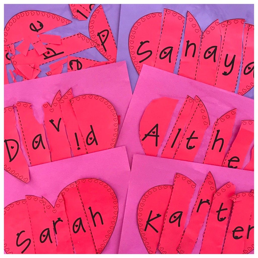 Valentine Projects For The Preschool Classroom