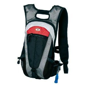 Swiss Gear Alpen Ultralight 2-Liter Hydration Pack (Black/Grey/Red ...