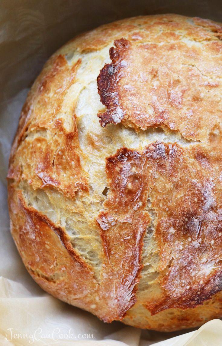 Make No Knead Bread in TWO HOURS | recipe from Jenny Jones (JennyCanCook)