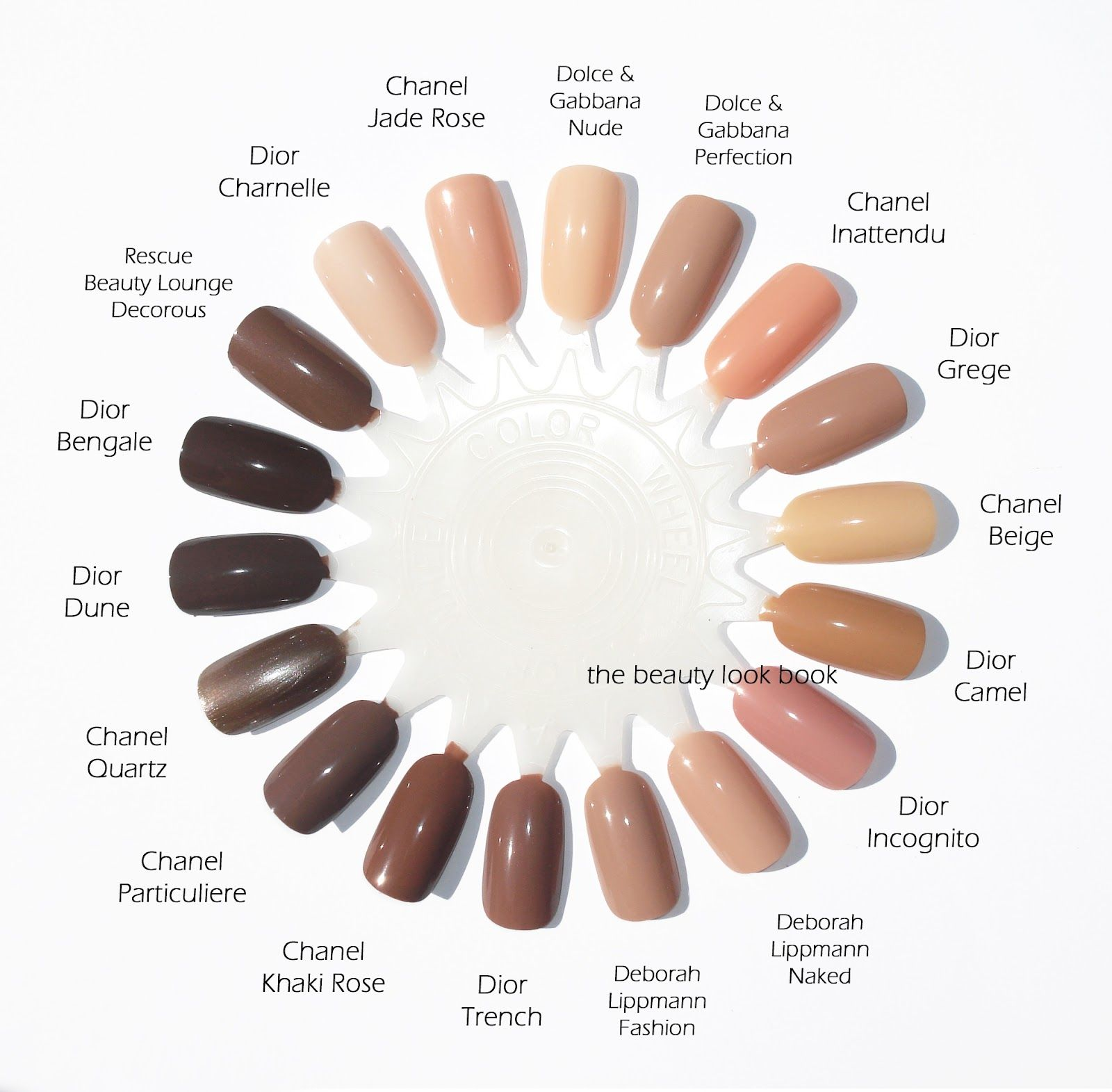 The Beauty Look Book: Dior Vernis: Nudes in Charnelle, Grège, Trench ...
