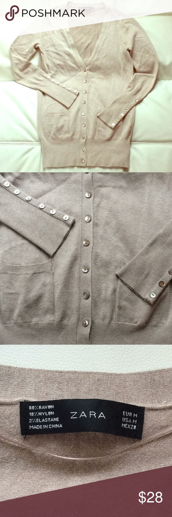 ZARA Classic Cardigan Classic cardigan, Zara, Clothes design