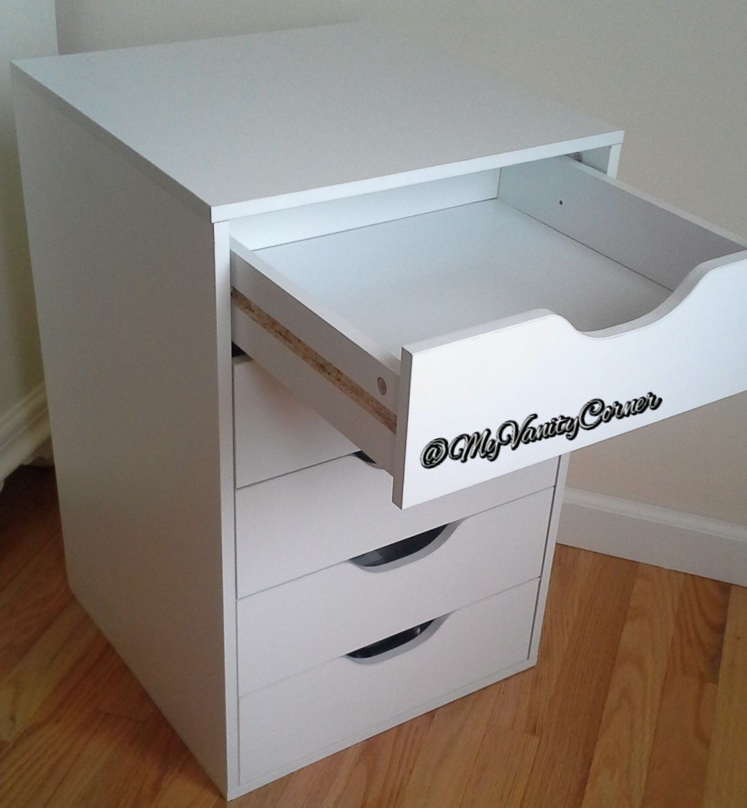 MyVanityCorner: Ikea's Alex 5 drawer dupe!! | Wake up & makeup