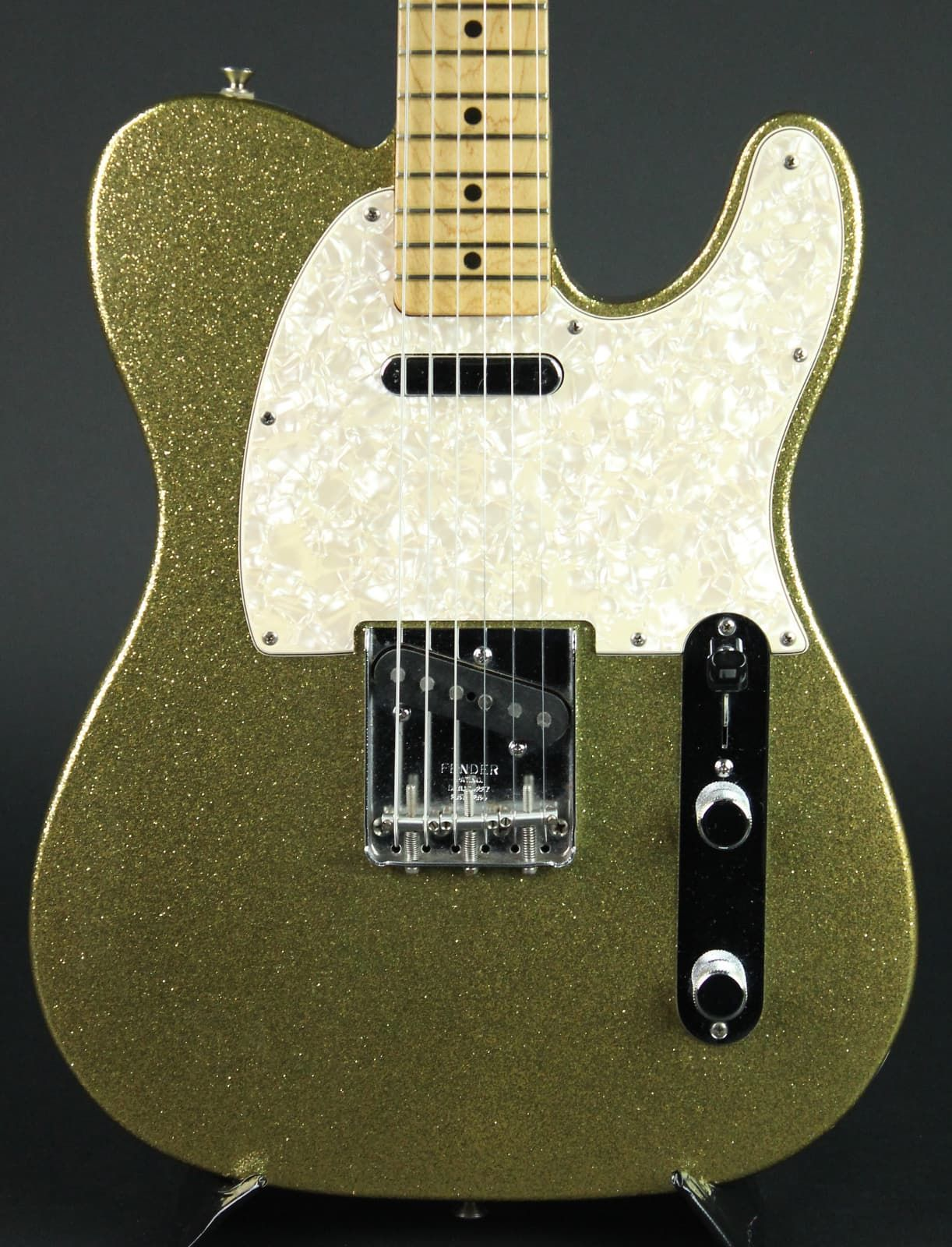1995 Fender Custom Shop Gold Sparkle Telecaster w OHSC in Great ShapeSerial Number CN This