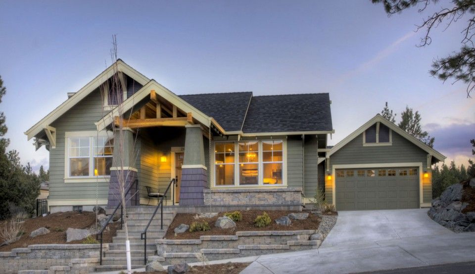 craftsman style house plans narrow lot HOME DESIGN Pinterest