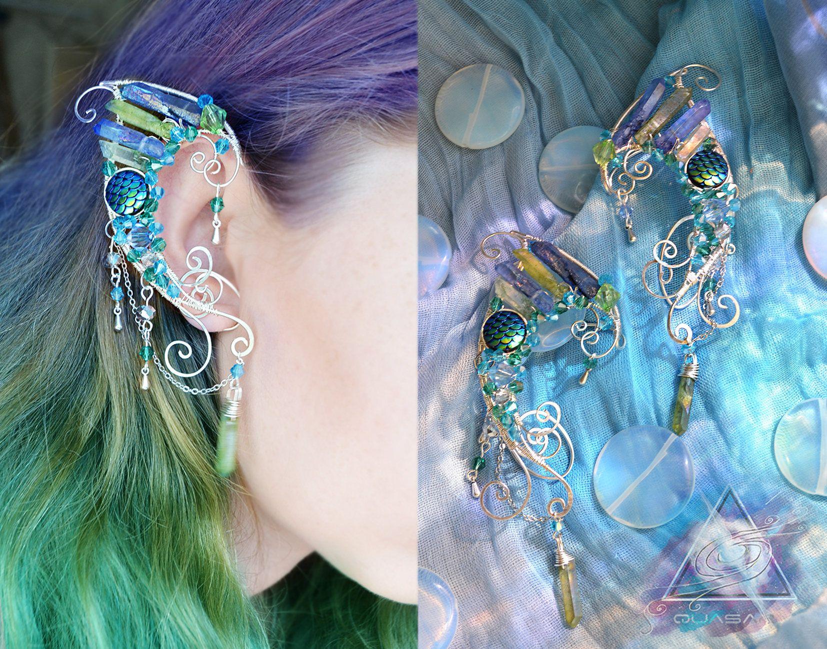 Ear Cuffs Mermaid