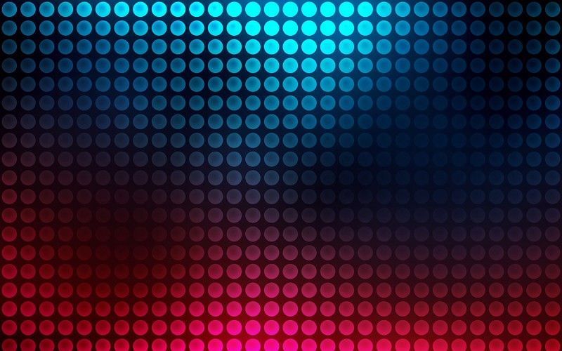 Blue And Red Neon Circle Pattern Wallpaper Planos De Fundo