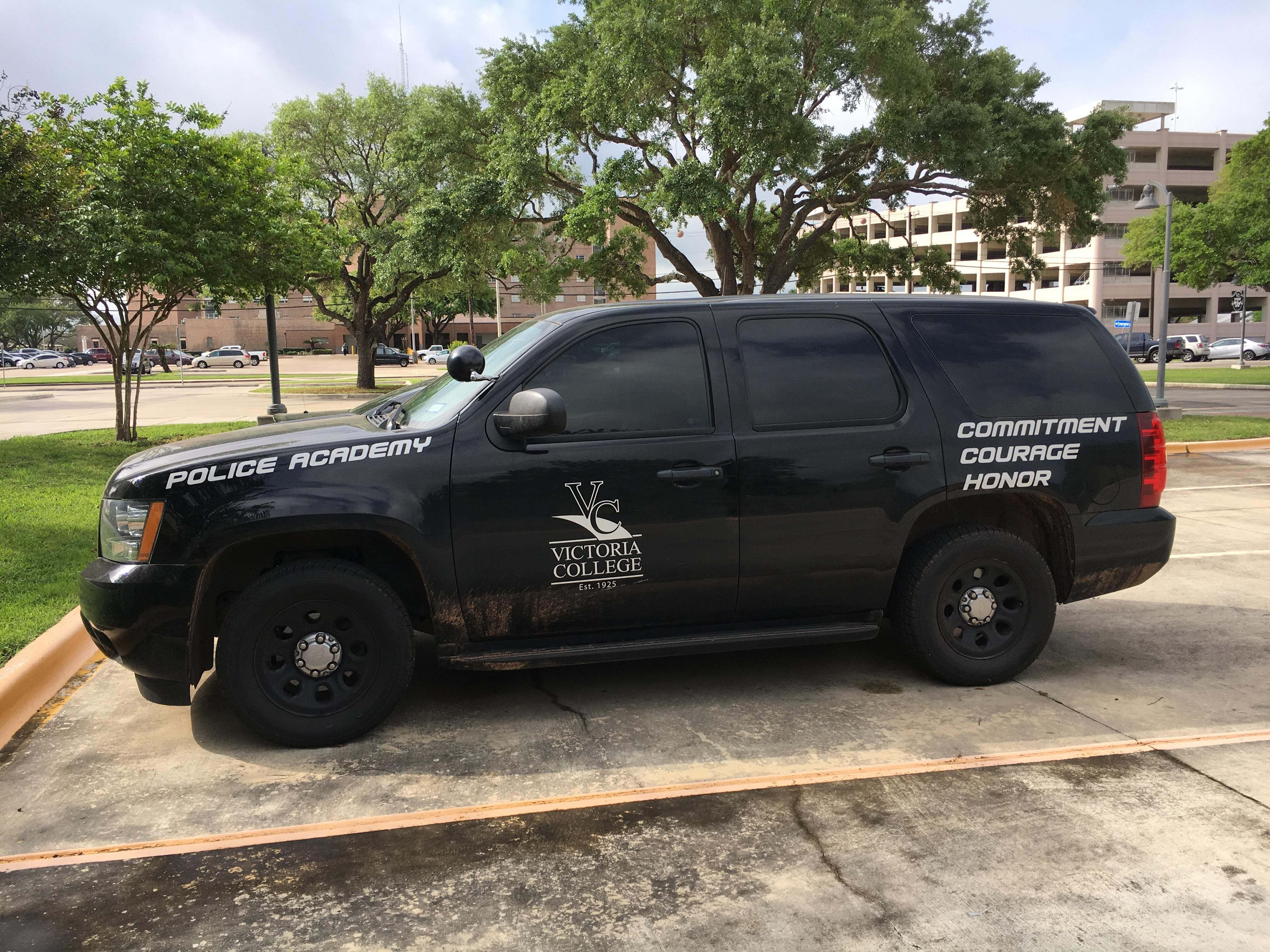 Victoria college police academy chevy tahoe texas