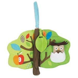 Skip Hop Treetop Friends Soft Activity Book - available in store and online at #FabBabyGear #SkipHop