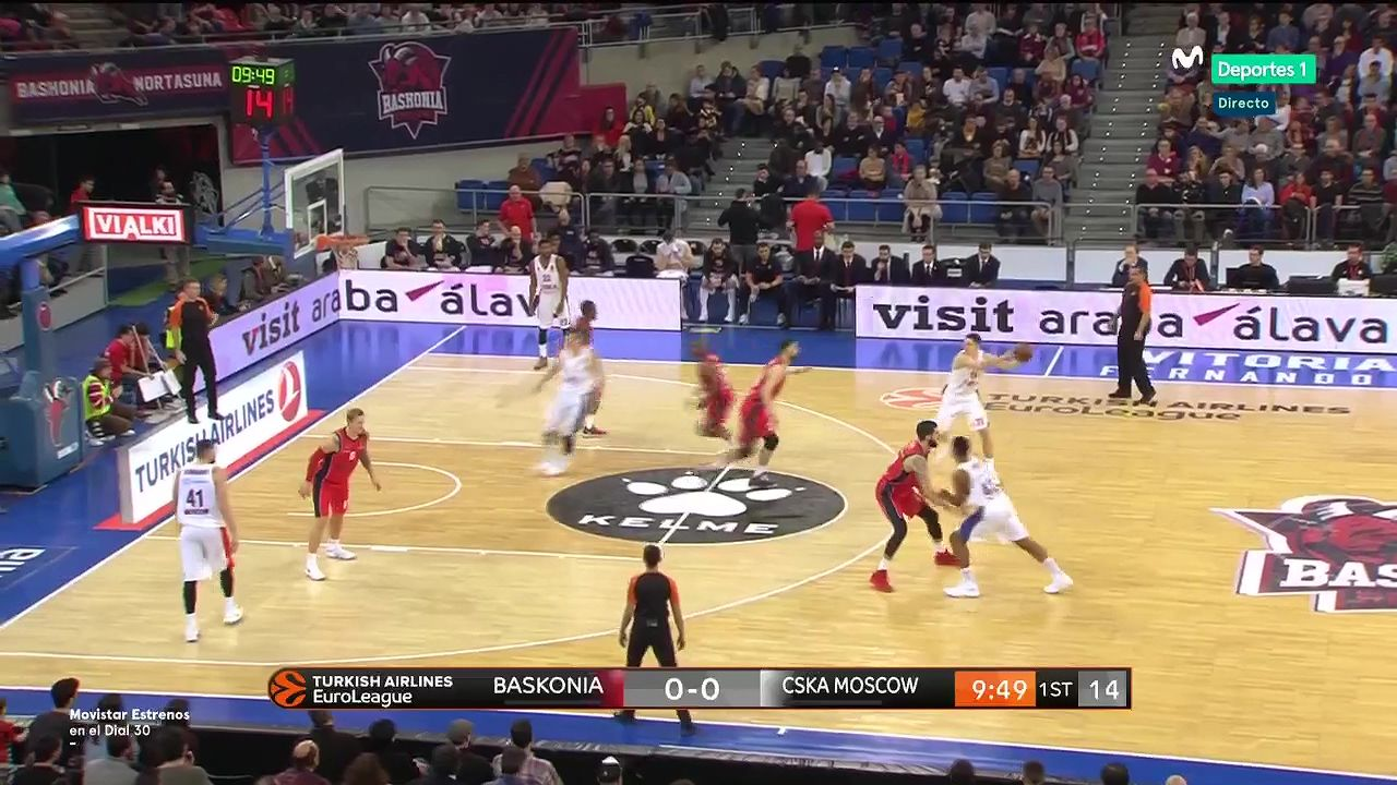 Pin On Goals Basketball Euroleague 17 18 Rs Round 15 Baskonia Vs Cska Moscow 29 12 2017 Full Match