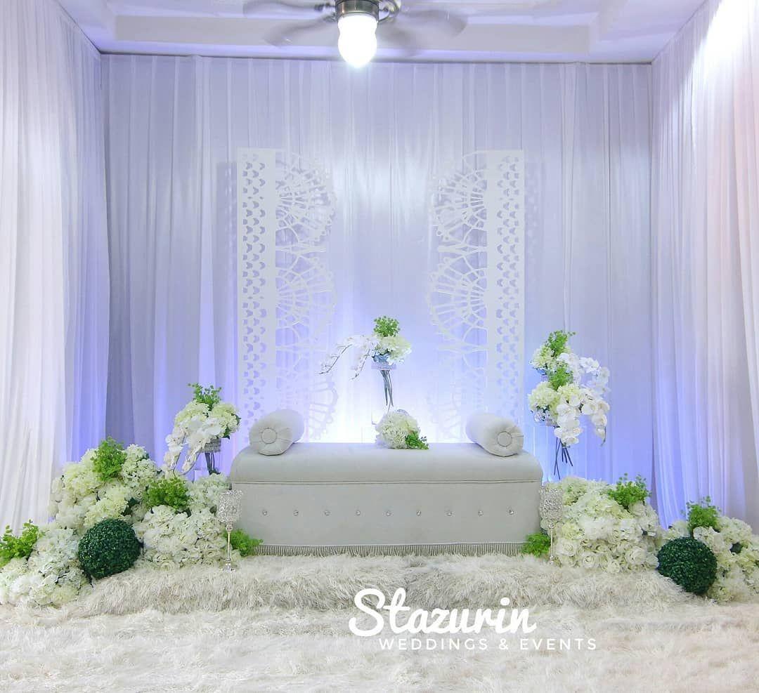 22 Sukaan 1 Komen Pakej Kahwin Pelamin Busana Stazurinbridalboutique Pada Instagram Tq Da Wedding Reception Backdrop Reception Backdrop Bridal Boutique