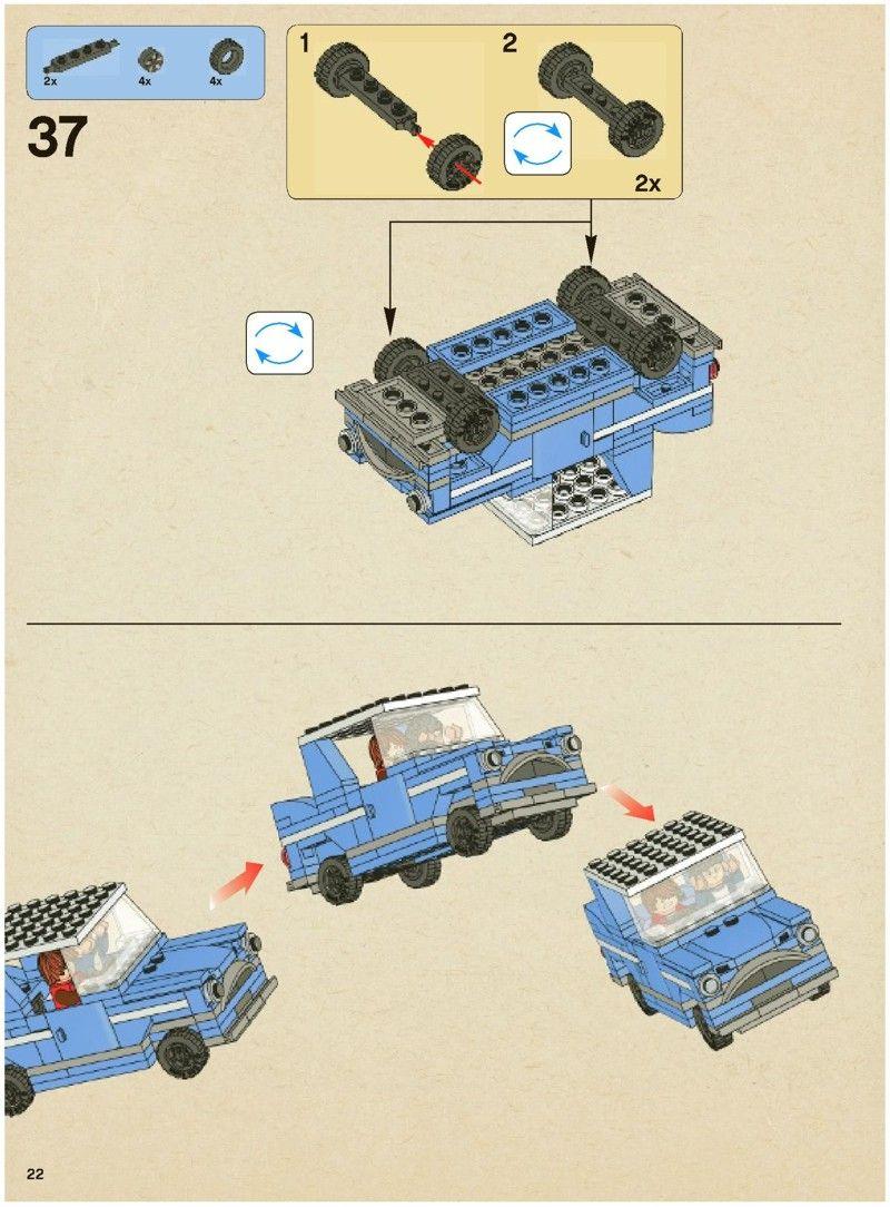 Harry Potter Hogwarts Express Lego 4841 Lego Instructions