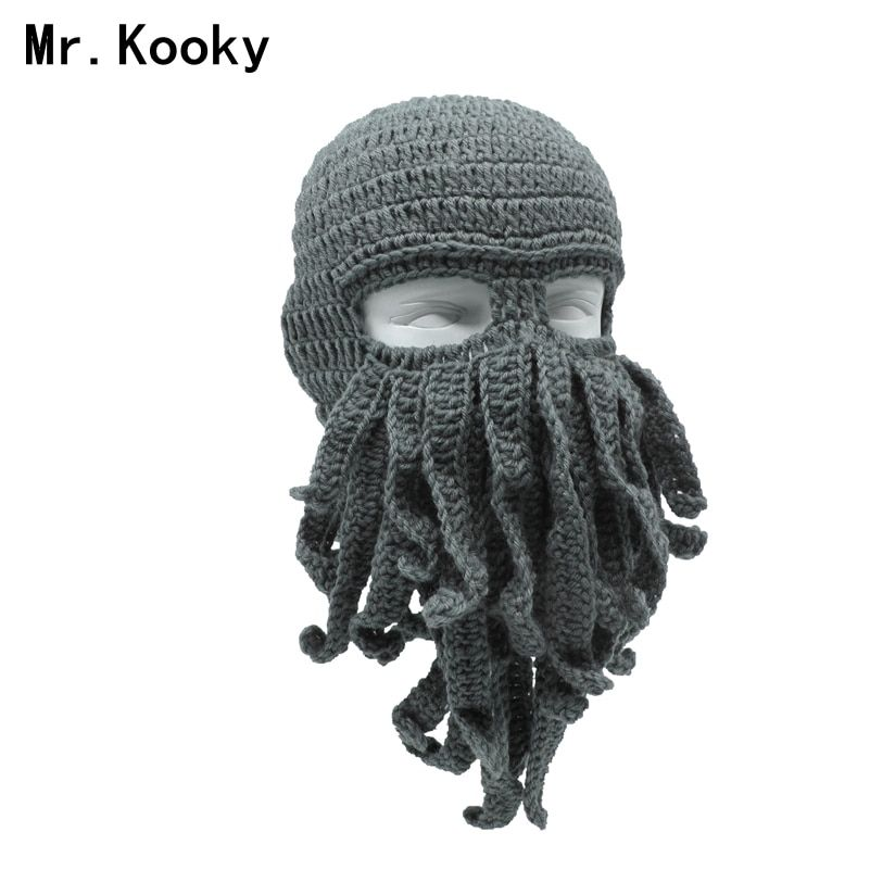 243964059 Cheap octopus hat, Buy Quality beard beanie directly from China hat ...