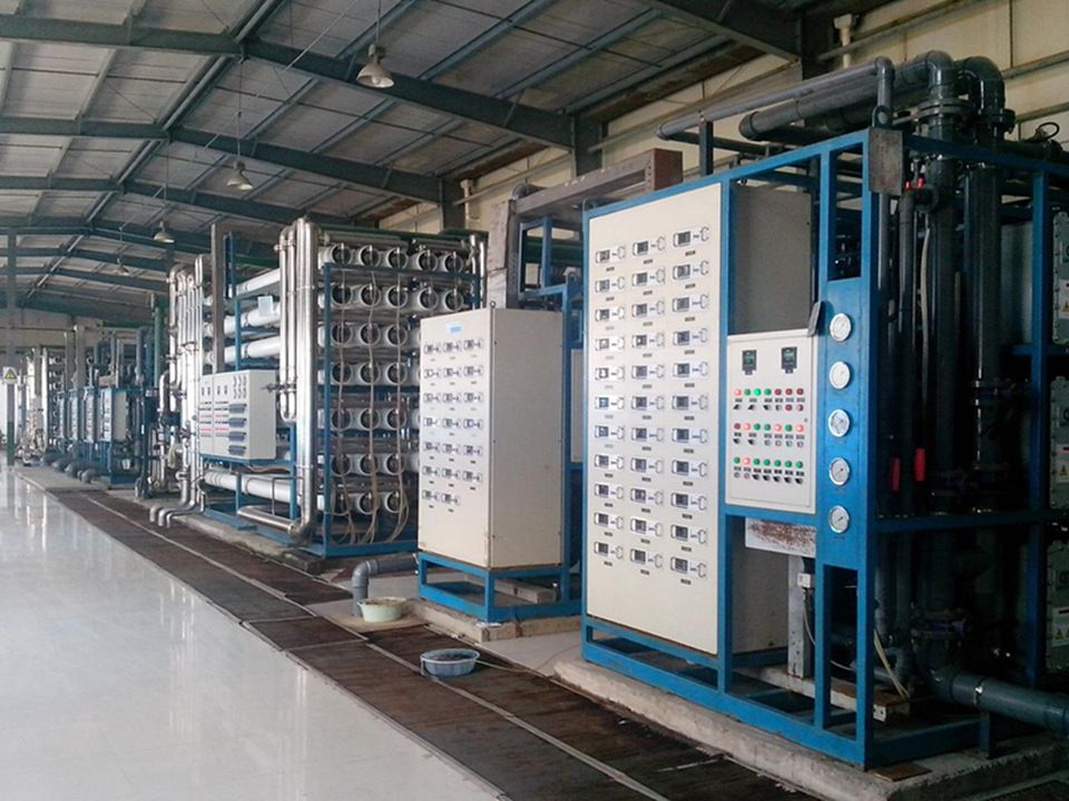 Large scale full automatic running industrial reverse osmosis water