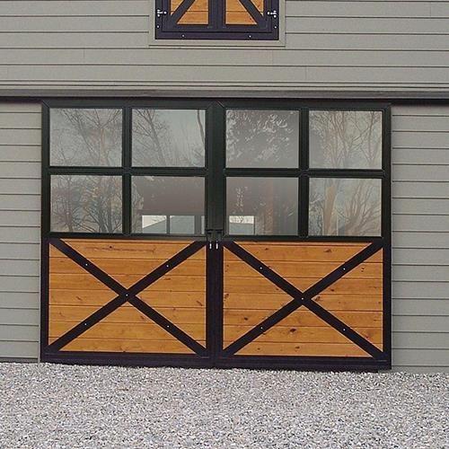 Options Shown Lexan Fill T G Fill And Black Gloss Powder Coating Available Online At Barn Pros Barn Door Decor Barn Style Doors Barn