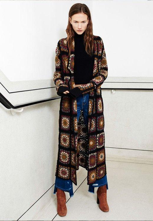 Zara Zara Sonbahar Kis Kadin Quot The Coat Edit Quot 2015 Katalogu Ebrosur Com Hirkalar Manto Boho Tarzi