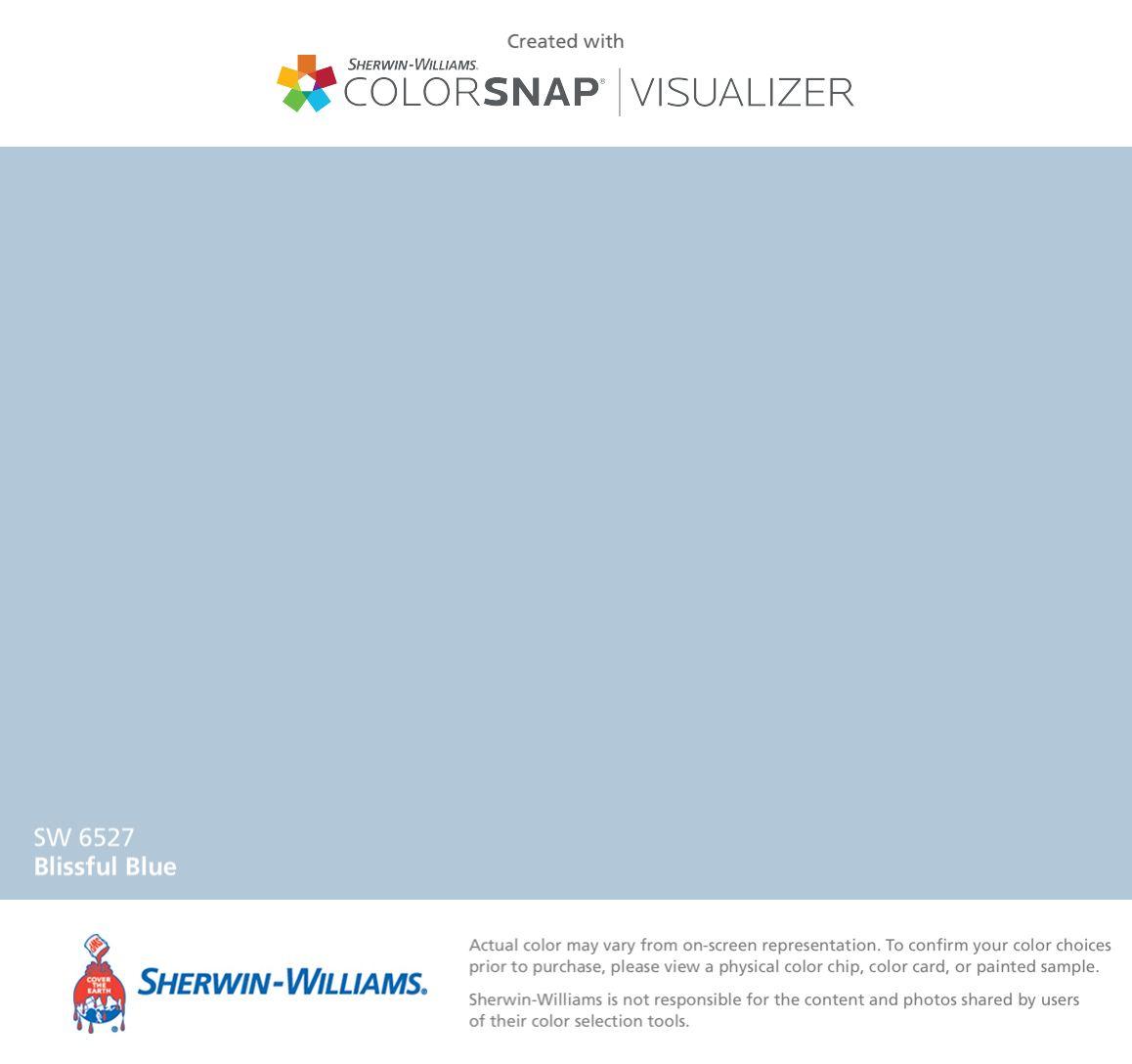 Kids Bathroom Blissful Blue Sw 6527 Paint Color App Matching Paint Colors Sherman Williams Paint