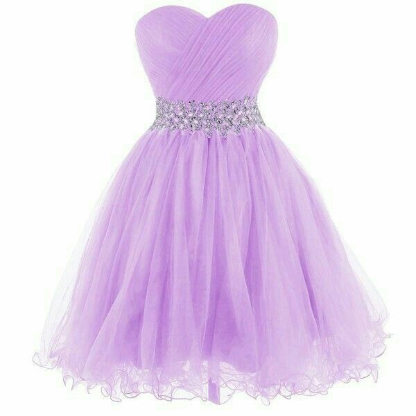 Kurze kleider violett