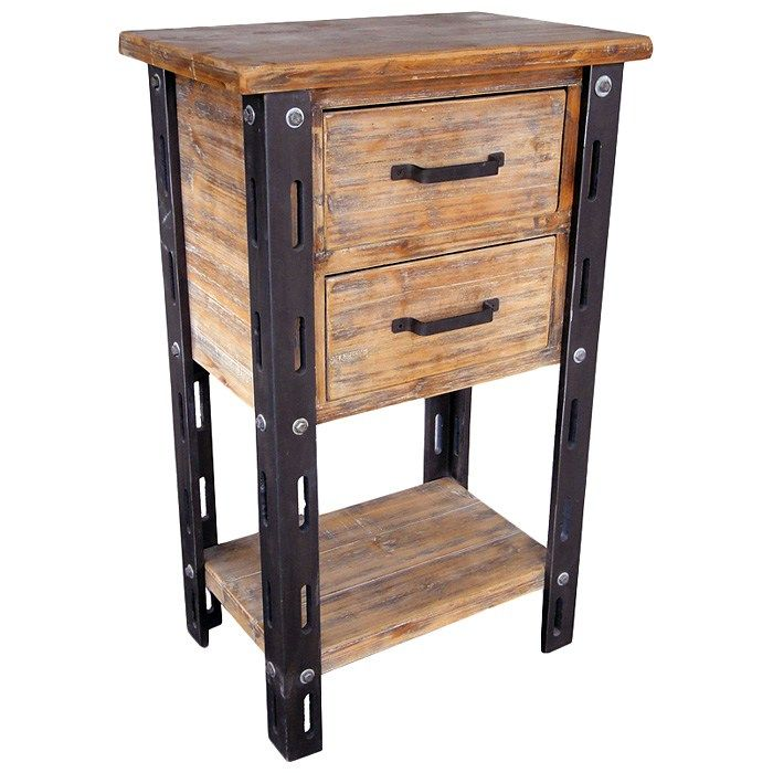 Bon Home Living Room Furniture Accent Table And Drawers