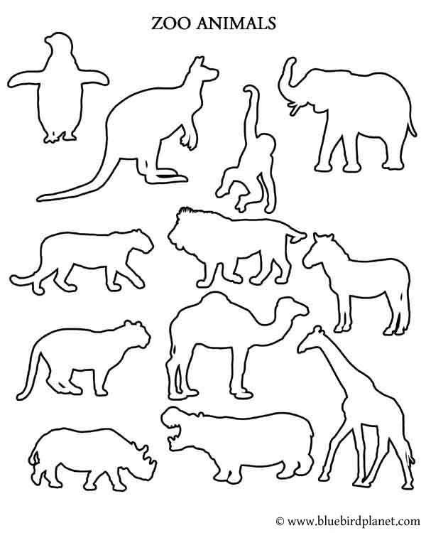 Free Printables For Kids Animal Worksheets Zoo Animal Coloring Pages Free Worksheets For Kids